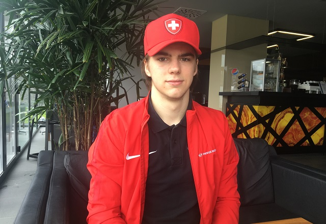 Exclusive interview with Nico Hischier