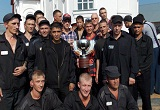 Varly celebrated with Russian prisoners