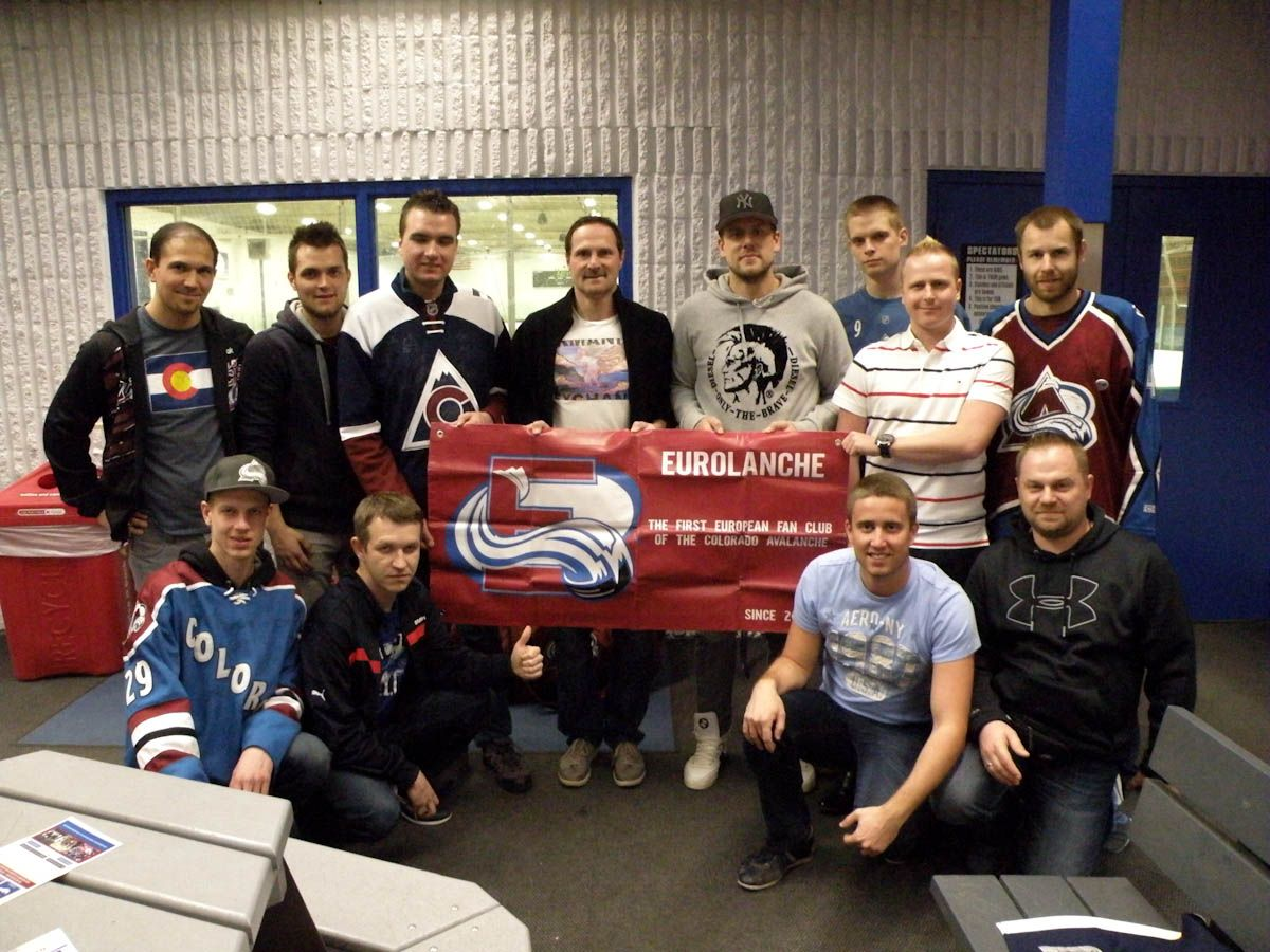 Gallery: Meeting with Milan Hejduk and Jan Hejda (2016, Colorado)