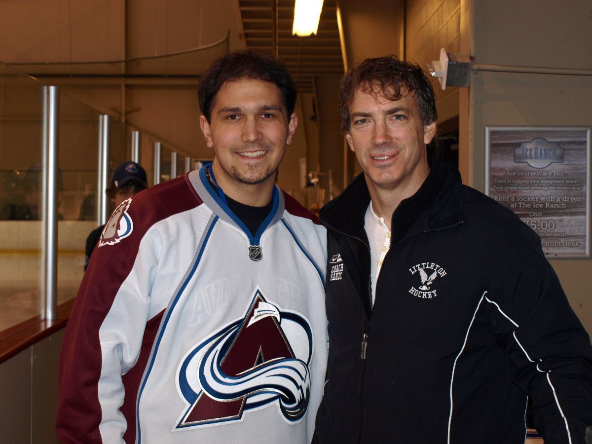 Gallery: Meeting with Joe Sakic (2010, Colorado)